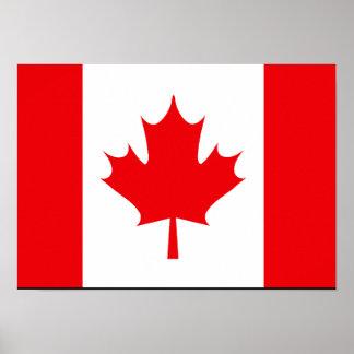 Camisetas y regalos canadienses de la bandera impresiones