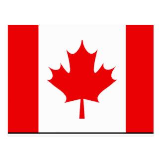 Camisetas y regalos canadienses de la bandera postales