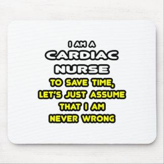 Camisetas y regalos cardiacos divertidos de la alfombrilla de ratón