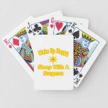 Camisetas y regalos chistosos del cirujano barajas de cartas