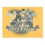 Camisetas y regalos clásicos del amor tarjeta postal
