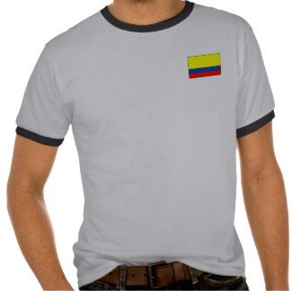 Camisetas y regalos colombianos de la bandera
