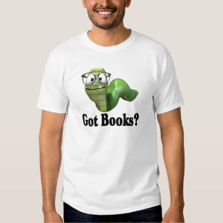 Camisetas y regalos conseguidos de los libros playera