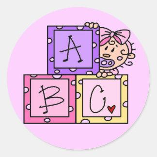 Camisetas y regalos de ABC del bebé Etiquetas