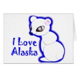 ¡Camisetas y regalos de Alaska! Felicitacion