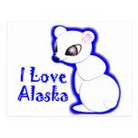 ¡Camisetas y regalos de Alaska! Tarjeta Postal