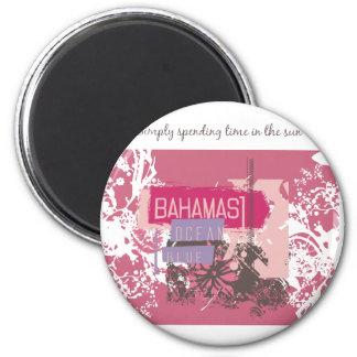 Camisetas y regalos de Bahama Sun Imán Redondo 5 Cm