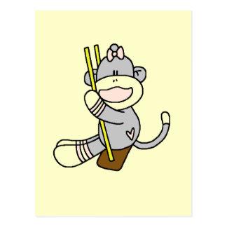 Camisetas y regalos de balanceo del mono del postal