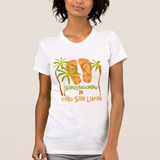 Camisetas y regalos de Cabo San Lucas de la luna Polera