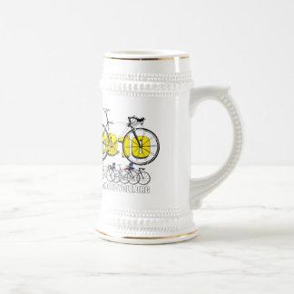 Camisetas y regalos de ciclo del logotipo de la jarra de cerveza