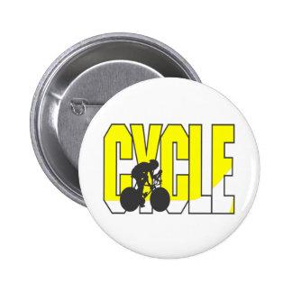Camisetas y regalos de ciclo pin redondo 5 cm