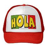Camisetas y regalos de Cinco de Mayo Hola Gorras De Camionero