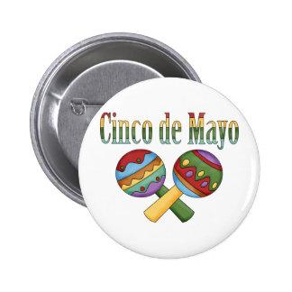 Camisetas y regalos de Cinco de Mayo para los niño Pins