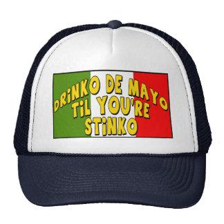 Camisetas y regalos de Cinco de Mayo Stinko Gorras De Camionero