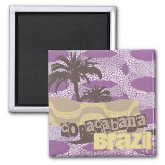 Camisetas y regalos de Copacabana Imán Cuadrado