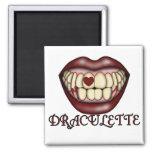 Camisetas y regalos de Draculette Imán De Nevera