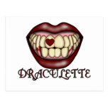Camisetas y regalos de Draculette Postal