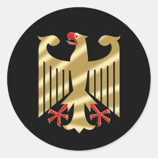 Camisetas y regalos de Eagle del alemán Pegatina Redonda