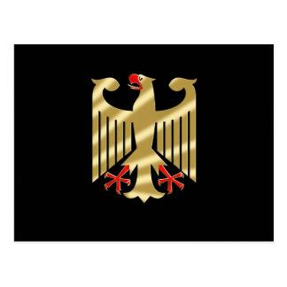 Camisetas y regalos de Eagle del alemán Tarjeta Postal
