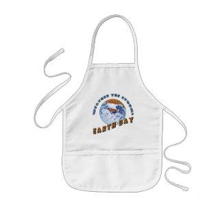 Camisetas y regalos de Earthday Delantal Infantil