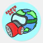 Camisetas y regalos de Earthday Etiqueta Redonda
