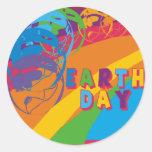 Camisetas y regalos de Earthday Etiquetas Redondas