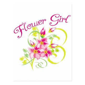 Camisetas y regalos de Flowergirl del paraíso Postales