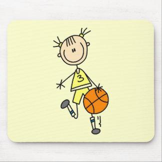 Camisetas y regalos de goteo del baloncesto del ch mousepad