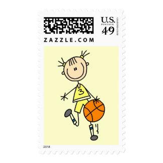 Camisetas y regalos de goteo del baloncesto del sello