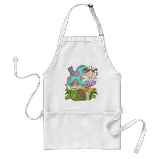 Camisetas y regalos de hadas de la casa del Toadst Delantales