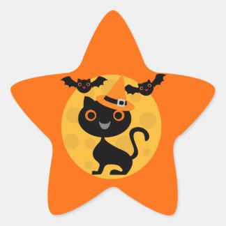 Camisetas y regalos de Halloween del gato y de los Etiqueta