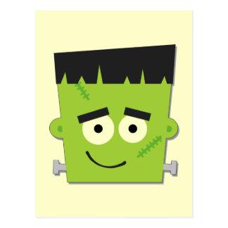 Camisetas y regalos de Halloween Frankenstein Tarjetas Postales