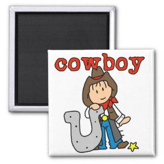 Camisetas y regalos de herradura del vaquero imanes de nevera