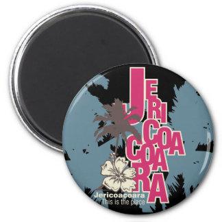 Camisetas y regalos de Jericoacoara Imán Redondo 5 Cm