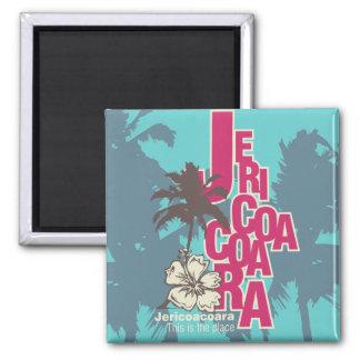 Camisetas y regalos de Jericoacoara Imán Cuadrado