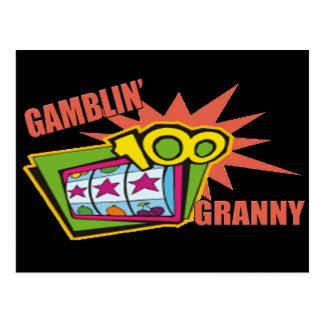 Camisetas y regalos de juego de la abuelita para tarjetas postales