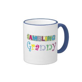 Camisetas y regalos de juego de la abuelita taza a dos colores