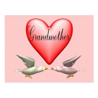 Camisetas y regalos de la abuela para ella tarjeta postal