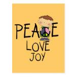 Camisetas y regalos de la alegría del amor de la postal