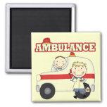 Camisetas y regalos de la ambulancia imán de frigorifico