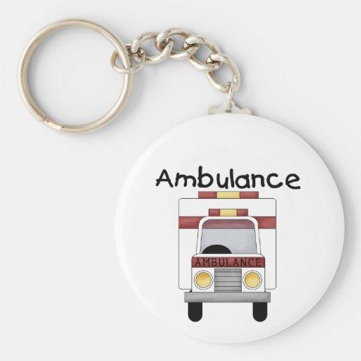 Camisetas y regalos de la ambulancia llavero personalizado