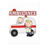 Camisetas y regalos de la ambulancia postales