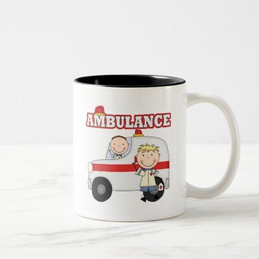 Camisetas y regalos de la ambulancia tazas de café