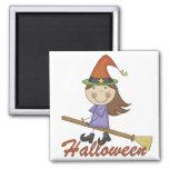 Camisetas y regalos de la bruja de Halloween Iman