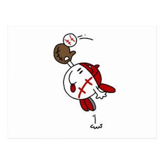 Camisetas y regalos de la captura del béisbol tarjetas postales