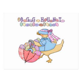 Camisetas y regalos de la caza del huevo del pato postal