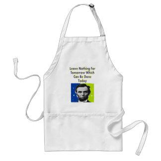 Camisetas y regalos de la cita de Abe Lincoln Delantales