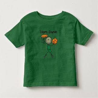 Camisetas y regalos de la clavada del baloncesto playera