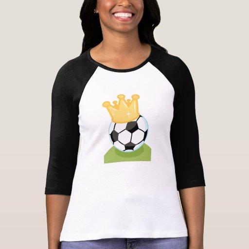 Camisetas y regalos de la corona del balón de