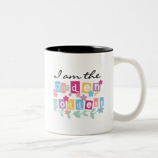 Camisetas y regalos de la diosa del jardín tazas de café